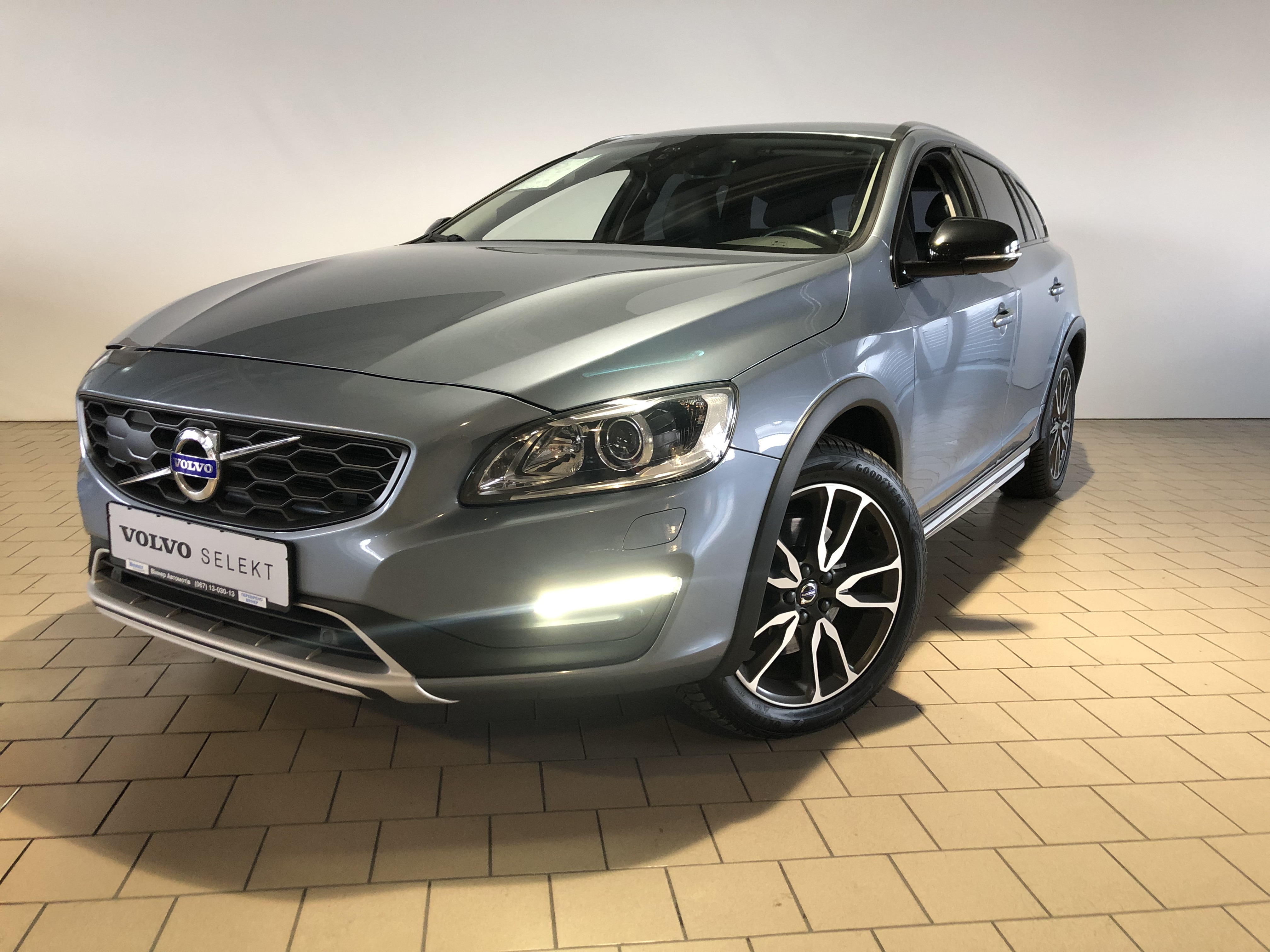 2016 V60 Cross Country Inscription