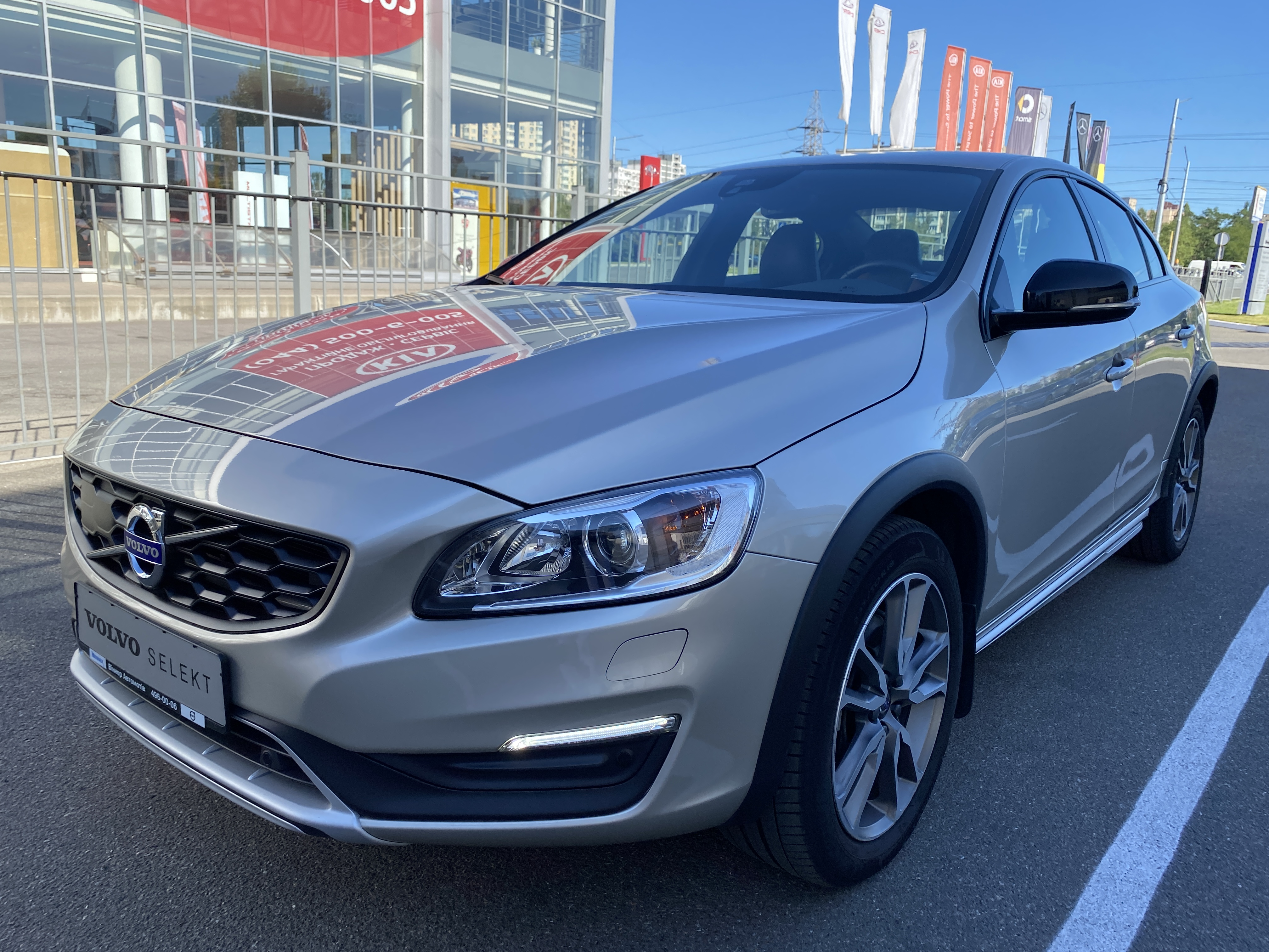 2017 S60 Cross Country Inscription